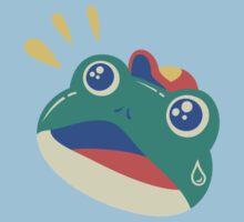 Slipping Toad head Kids Tee