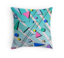 80s pop retro pattern 4 Coussin