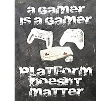 Gamer platform Photographic Print