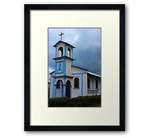 Rural Church Framed Print