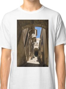 Limestone and Sharp Shadows - Old Town Noto, Sicily, Italy Classic T-Shirt