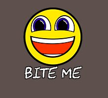 Smile Bite Me - Passive Aggressive Smiley Face Geek Classic T-Shirt