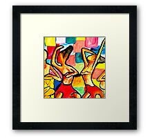 Party Dancers  Framed Print