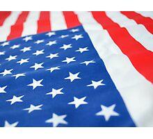 American Flag 2 Photographic Print
