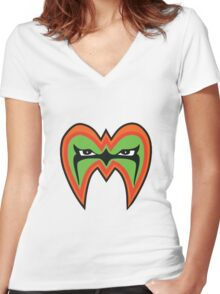 Ultimate Warrior Women's Fitted V-Neck T-Shirt