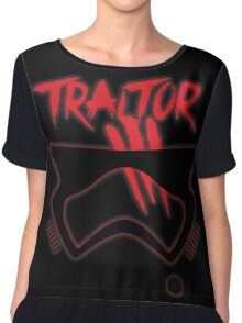 First Order Traitor  Chiffon Top