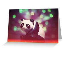 THE CHINA PANDA Greeting Card