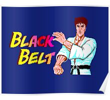 BLACK BELT - SEGA MASTER SYSTEM Poster