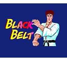 BLACK BELT - SEGA MASTER SYSTEM Photographic Print