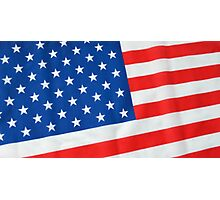American Flag 3 Photographic Print
