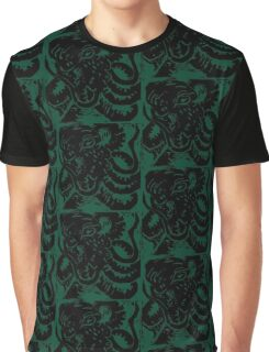 Octopus - Museum Linocut Collection Graphic T-Shirt