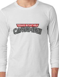 "Teenage Mutant Ninja Cavemen ""Dinosaurs"" Long Sleeve T-Shirt"