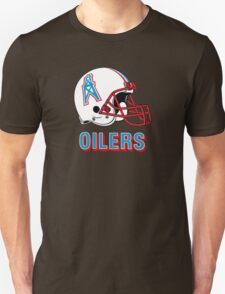 HOUSTON OILERS FOOTBALL RETRO (2) Unisex T-Shirt