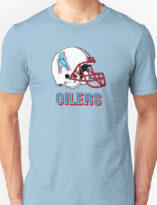 HOUSTON OILERS FOOTBALL RETRO (2) T-Shirt