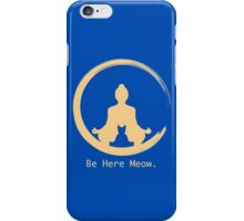 Yoga With Meow iPhone Case/Skin