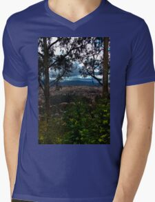 View Of Cuenca From The Road To Turi Mens V-Neck T-Shirt