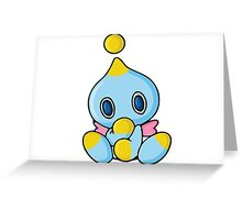chao Greeting Card