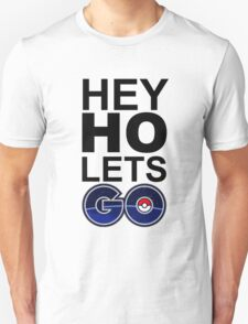 hey ho pokemon go white Unisex T-Shirt