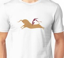 Antiker Stiersprung aus Kreta Unisex T-Shirt