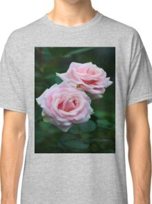 Love Love Pink Roses Classic T-Shirt