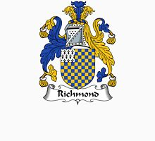 Richmond Coat of Arms / Richmond Family Crest Unisex T-Shirt