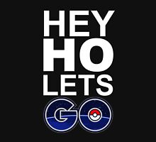 hey ho pokemon go black Unisex T-Shirt