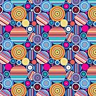 Seamless geometric pattern by Tanor