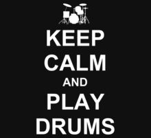Play Drums (White) Baby Tee