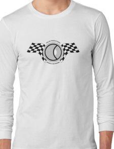 Steve McQueen Solar Productions Sports Car Racing Black Text Long Sleeve T-Shirt
