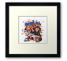 Dexter's Cereal Killer! Framed Print