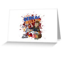 Dexter's Cereal Killer! Greeting Card