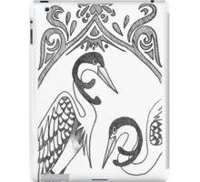 Two Herons iPad Case/Skin