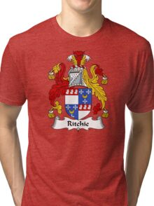 Ritchie Coat of Arms / Ritchie Family Crest Tri-blend T-Shirt