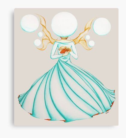 The Electricity Fairy Canvas Print
