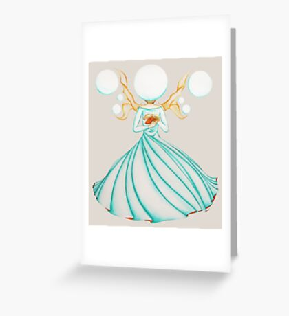 The Electricity Fairy Greeting Card