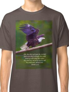 Wings Like Eagles Classic T-Shirt