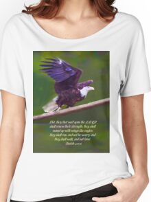 Wings Like Eagles Women's Relaxed Fit T-Shirt