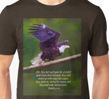 Wings Like Eagles Unisex T-Shirt