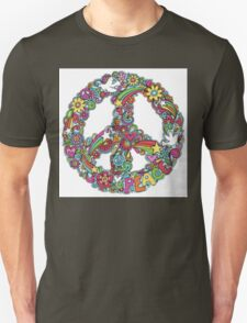 Colourful Peace Sign T-Shirt