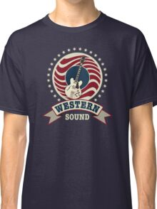 Cool Western Sound Classic T-Shirt