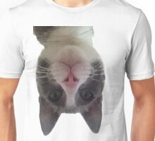 Crazy Gracie Upside Down Kitty Unisex T-Shirt