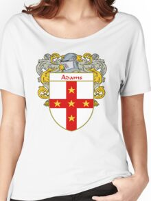 Adams Coat of Arms/Family Crest Women's Relaxed Fit T-Shirt