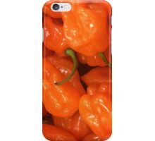 Orange peppers iPhone Case/Skin