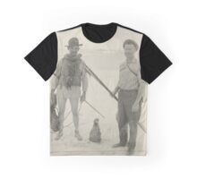 Tanager Expedition members, Laysan Island, by Donald Dickey Graphic T-Shirt