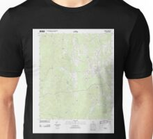 USGS TOPO Map Alabama AL Gordo 20110915 TM Unisex T-Shirt