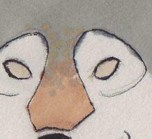 Happy Wolf Sticker
