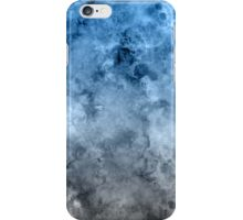 blue white marble iPhone Case/Skin