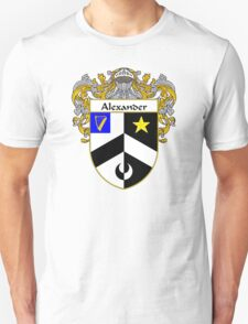 Alexander Coat of Arms/Family Crest Unisex T-Shirt