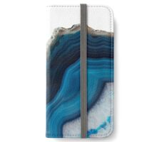Blue Agate iPhone Wallet/Case/Skin