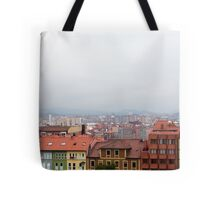 Colorfull village Tote Bag